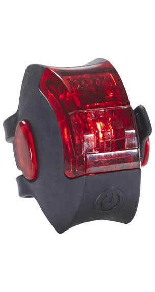 Red Cycling Products Power LED USB Rear Light - Éclairage arrière - noir